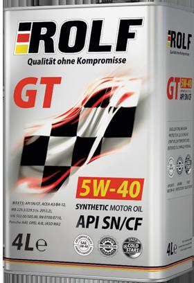 ROLF GT 5W-40 SN/CF