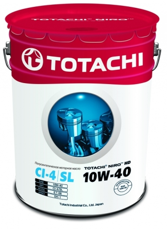 TOTACHI NIRO™ HD SEMI-SYNTHETIC 10W-40 19 литров