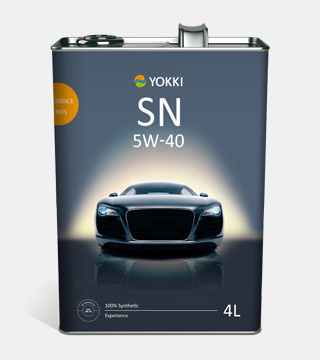 YOKKI SAE 5W-40 Experience API SN/CF