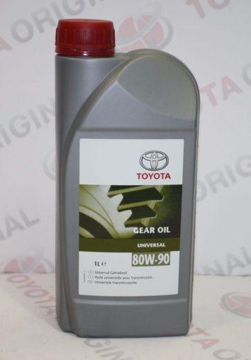 Масло трансмиссионное Toyota SAE 80W-90 API GL4/GL5, 1л