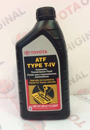 Масло для автоматической трансмиссии TOYOTA ATF TYPE T-4, 1л