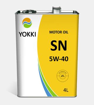 YOKKI SAE 5W-40 API SN