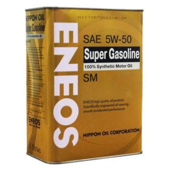 ENEOS SUPER GASOLINE 100% SYNTHETIC 5W-50