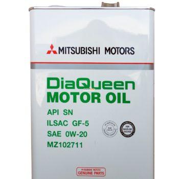 MITSUBISHI DiaQueen 0W20 SN/GF-5 (4л) Япония
