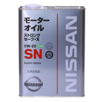 Nissan 0W20 SN STRONG SAVE-X 4л