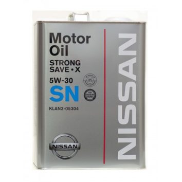 Nissan 5W30 SN STRONG SAVE X  4л