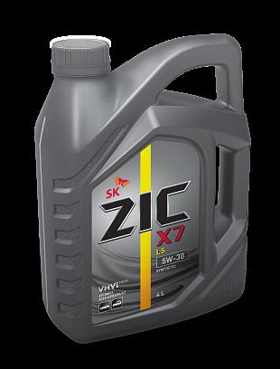 ZIC X7 LS 5W-30 4 литра