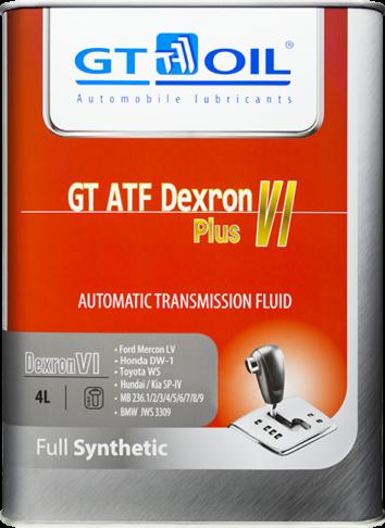 GT ATF DEXRON VI PLUS 4литра