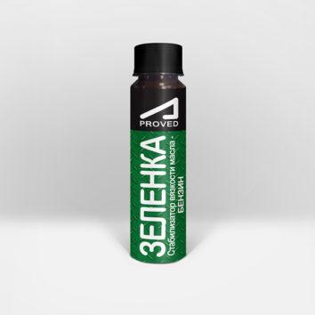 Зеленка - стабилизатор вязкости масла - бензин