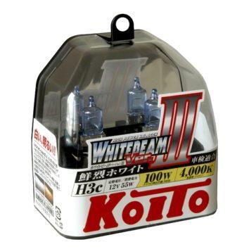 Koito Whitebeam III H3c 4000K 12V 55W (100W)
