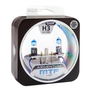 MTF Лампа галогенная H3 Argentum +50%