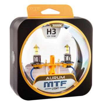 MTF Лампа галогенная H3 Aurum