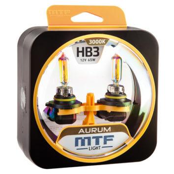 MTF Лампа галогенная HB3 Aurum