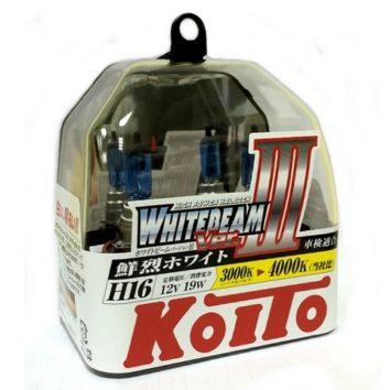 Koito Whitebeam III H16 4000K 12V 19W