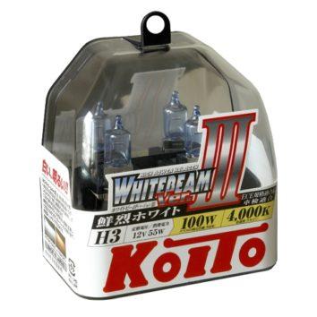 Koito Whitebeam III H3 4000K 12V 55W (100W)