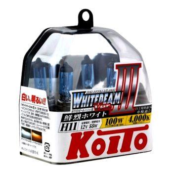 Koito Whitebeam III H11 4000K 12V 55W (100W)