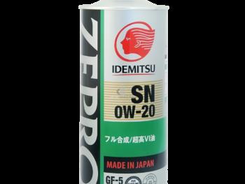 IDEMITSU-ZEPRO-0W20