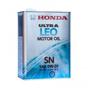 HONDA ULTRA LEO SN 0W-20 4литра
