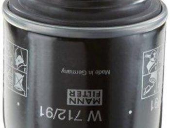 Фильтр масляный MANN W712/91